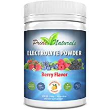 Pride Naturals Electrolyte Powder - Immune Boosting Vitamins & Minerals | All Natural, Sugar Free, Gluten Free & Vegan Electrolytes | Perfect Hydration Beverage Mix | Refreshing Berry Flavor