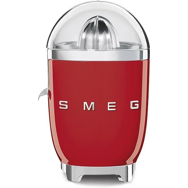 Smeg HBF01RDEU batidora, 700 W, De plástico, Rojo, Acero ...