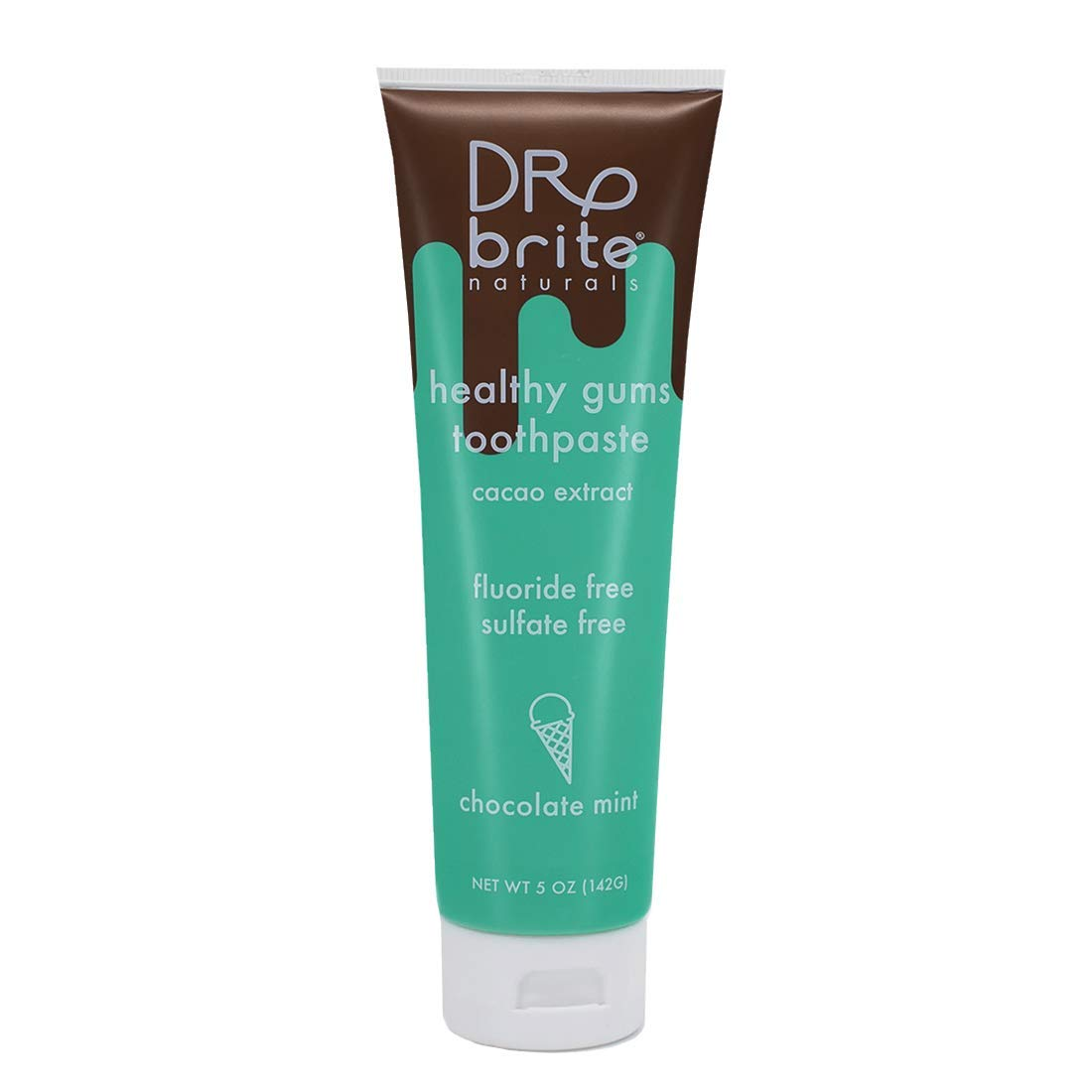 Dr. Brite Natural Whitening Toothpaste (1-Pack, Chocolate Mint)