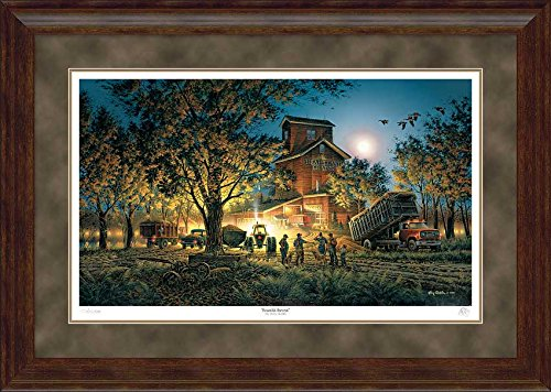 Wild Wings Bountiful Harvest Framed Limited Edition Print by Terry Redlin