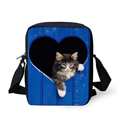 HUGS Crossbody Kitten Face Animals Handbag IDEA Small Shoulder Bags Cute rqU7r