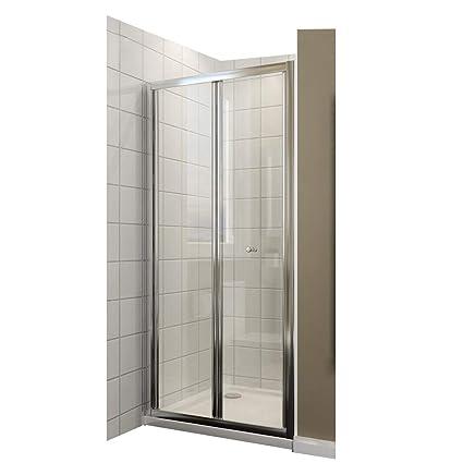 Falttür Duschkabine Duschtür Duschwand faltbar 86x185cm