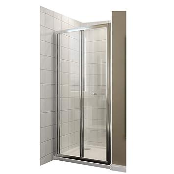 Duschkabine 100cm Duschabtrennung In Nische Nischentür Falttür