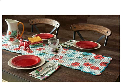 Town & Country Linen Corp The Pioneer Woman Vintage Bloom Reversible Table Runner, 14 x ()