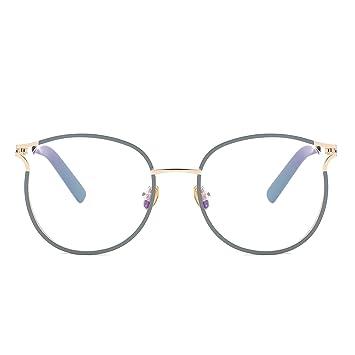4a4752d7cdf8 Blue Light Filter Computer Glasses for Blocking UV Headache Anti Eye  Eyestrain Transparent Lens VL9007 Gray
