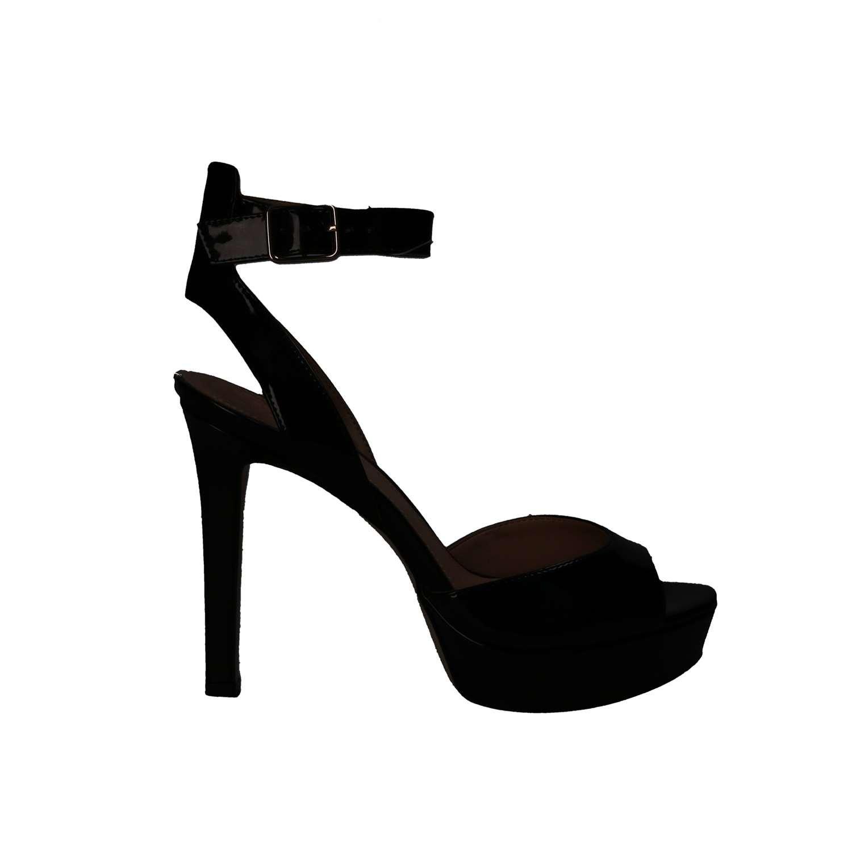 Guess FLCT21 PAF03 Sandalen mit Absatz Absatz Absatz Frauen Schwarz 1b14da