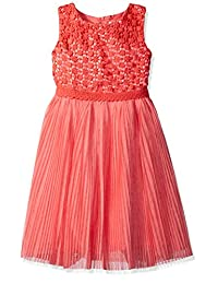 Dorissa girls Big Girls Judith Crochet Bodice and Chiffon Dress