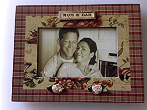 Amazoncom 6x4 Mom And Dad Picture Frame