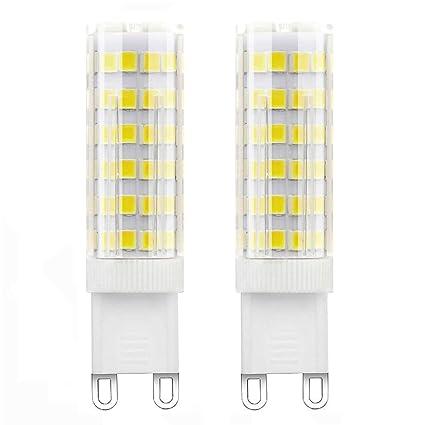 1819® bombillas LED G9 5W Blanco Frío equivalentes a Lámparas halógenas de 40W 400LM AC