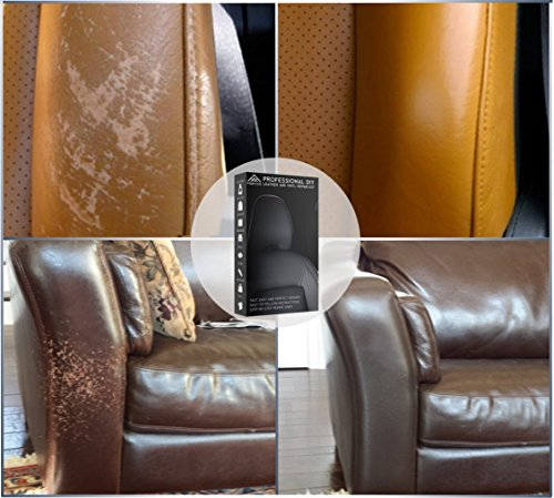 Leather And Vinyl Repair Kit Furniture Couch Car Seats