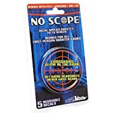 No Scope Glow in the Dark TV Decal