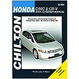 Honda Civic (2001-11) and CR-V (2002-11) Repair Manual (30203)