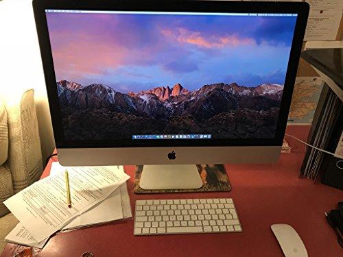 Apple Imac Mk462ll A 27 Inch Retina 5K Desktop  3 2 Ghz Intel Core I5  8Gb Ddr3  1Tb  Mac Os X   Certified Refurbished