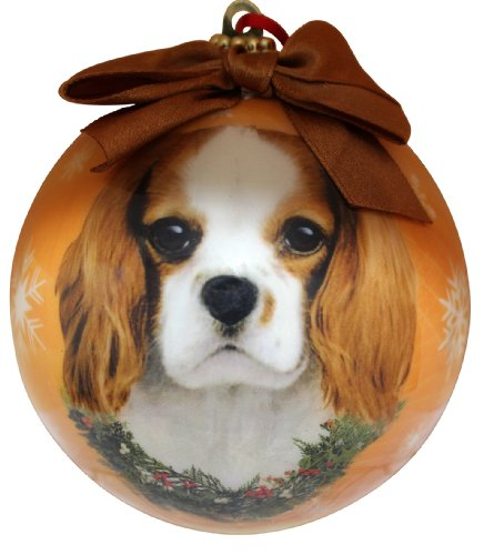 King Charles Cavalier Christmas Ornament Shatter Proof Ball Easy To Personalize A Perfect Gift For King Charles Cavalier Lovers