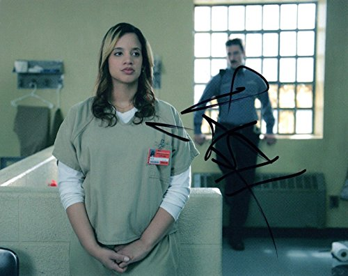 Dascha Polanco Signed Autographed 8X10 Photo Orange Is The New Black Coa