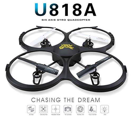Drone with HD Camera,Holy Stone RC Drone Quadcopter with HD Camera Headless Mode,One Key Return Home and Low Voltage Alarm Function Includes Bonus Battery and Goggles