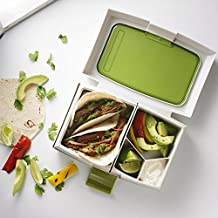 Fuel Bento Lunch Box Container Cdu (green/white)