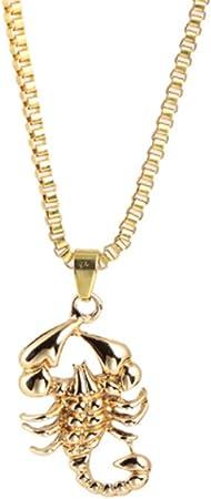 collier forme scorpion femme