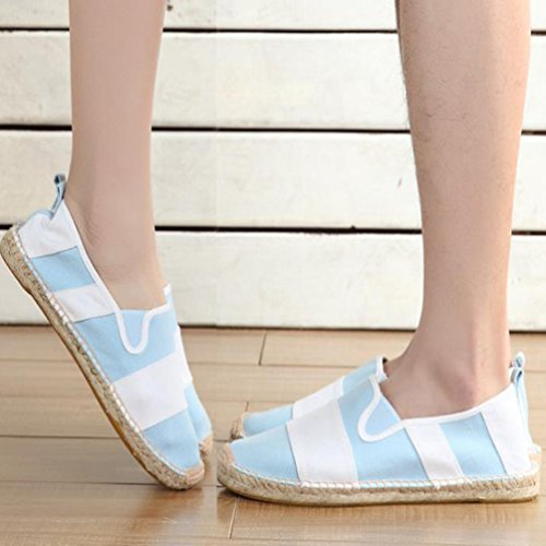 Flats Moda Tinta Uomo Slip Scarpe Donna Basse Espadrillas Beige Loafers Scarpe Casuale Unita on Lvguang Unisex wY4qxn64