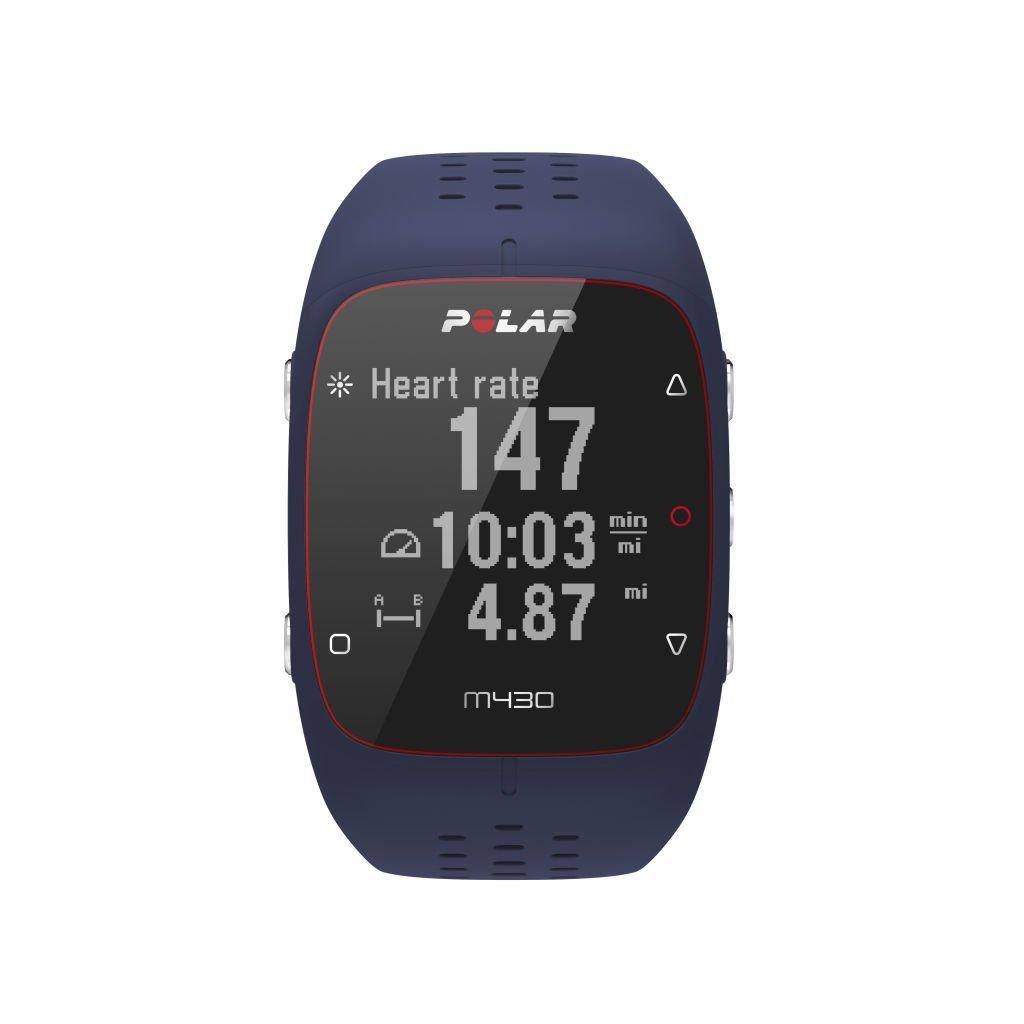 Polar (90070082) M430 GPS Running Watch Blue, Medium/Large by Polar