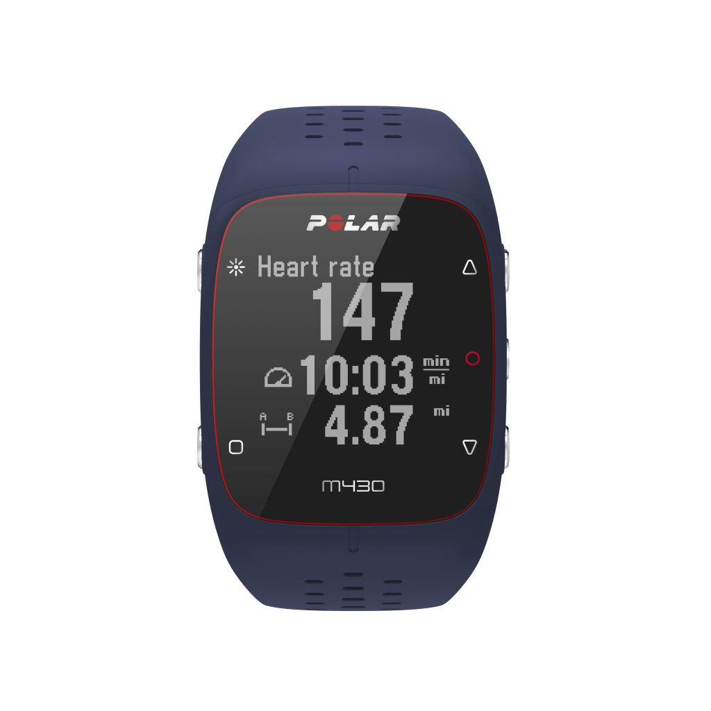 Polar (90070082) M430 GPS Running Watch Blue, Medium/Large