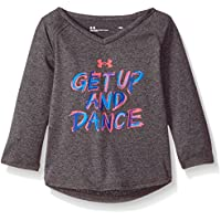 Under Armour Baby Girls Get up and Dance Long Sleeve T-Shirt