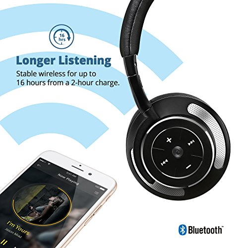 active noise cancelling bluetooth headphones ideausa wireless headphones wit. Black Bedroom Furniture Sets. Home Design Ideas