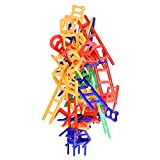 Chairs and Ladders Suspend Family Game - Stacking Balance Game. 44 Individual Pieces.