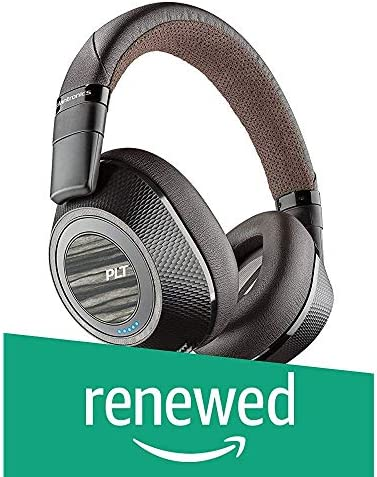 Plantronics Backbeat Pro 2 Wireless Over-the-Ear Noise Canceling Headphones Dark Brown – Renewed