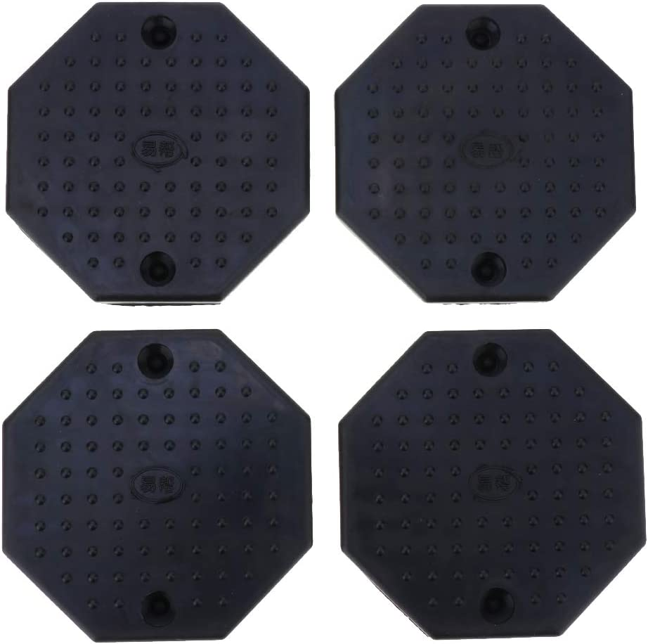 Automotive Lift Adapters Rubber Arm Pads 4 Pieces Car Floor Jack Pad Adapter 12cm// 4.72inch Octagon
