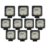 TMH® 27w Square Shape 30 Degree LED Work Light Spot Lamp ...