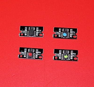 TM-toner © 4 pc Imaging Drum Unit Reset Chips for Konica Minolta Magicolor C8650 8650 8650DN