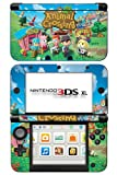 Animal Crossing Leaf Game Skin for Nintendo 3DS XL Console