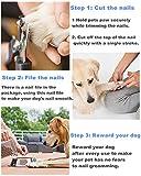 Dog Nail Clippers Pet Nail Trimmers Nail File Set
