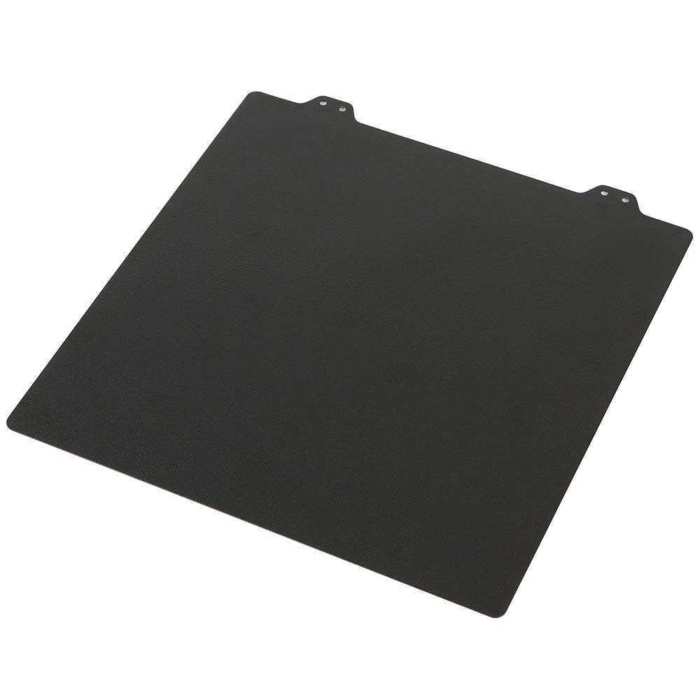 BCZAMD 300x300MM Double Sided Textured PEI Spring Steel Sheet Powder Coated PEI Plate for Creality CR-10 CR10S Lulzbot Taz6 Black