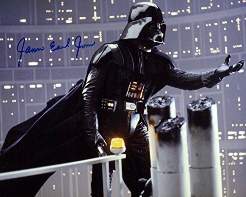 James Earl Jones (Star Wars) Signed 8X10 Photo from Authentic Autographs