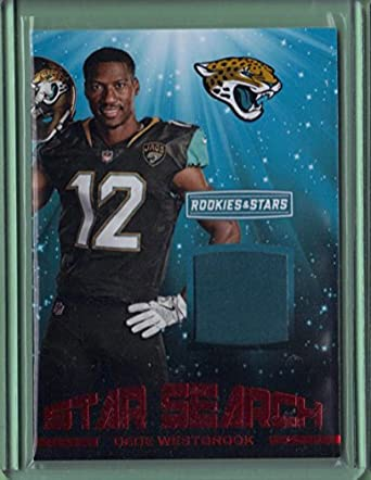 82faeb310 2017 Rookies and Stars Star Search Jerseys Red  15 Dede Westbrook - Rookie  Year