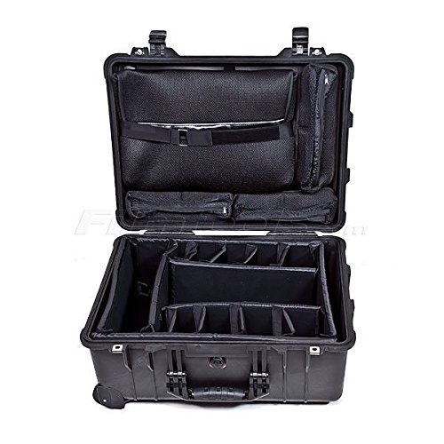 Pelican 1560SC Watertight Studio Hard Case, with Wheels - Desert Tan by Pelican