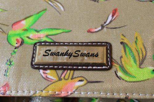 SwankySwans , Damen Satchel-Tasche Beige beige large