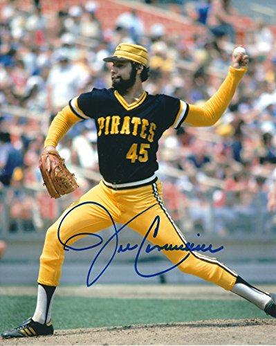 Autographed John Candelaria 8x10 Pittsburgh Pirates Photo