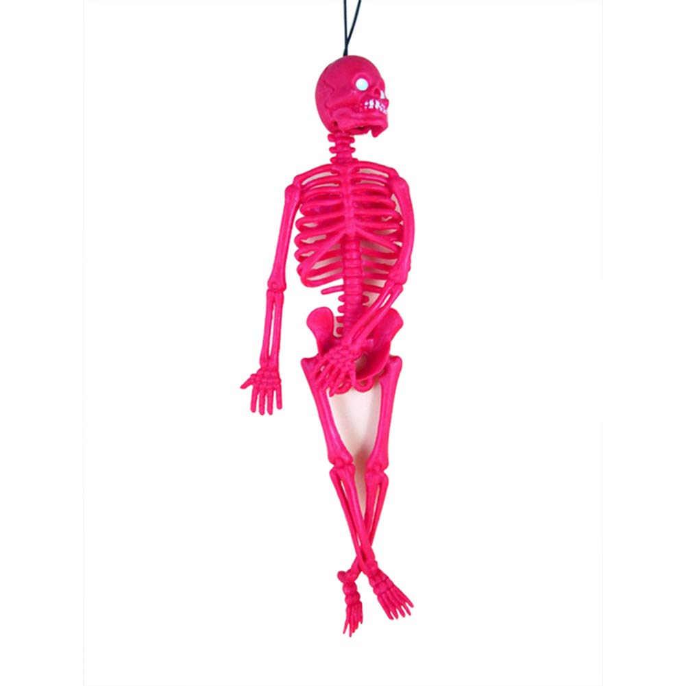 Ferrell Horrible Halloween Esqueleto Modelo Calavera Esqueleto Halloween Colgando Apoyos Decoración de la Fiesta de Miedo
