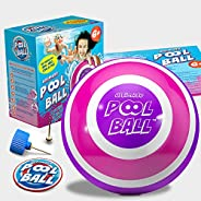 The Ultimate Pool Ball - You Fill This Ball with Water to Play Underwater Games - Dribble Off The Pool Bottom