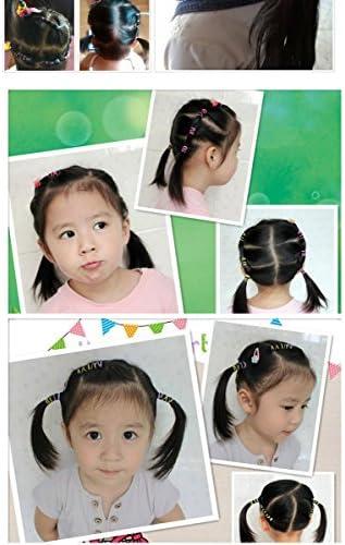 [スポンサー プロダクト]ParaHome ヘアゴム 子供 大人 こども 赤ちゃん 髪ゴム かわいい カラフル 弾性髪バンド 使い捨て 便利 輪ゴム 小さいの量 1万本 大きいの量 4000本 (ブラック, 大きなサイズ4000本)