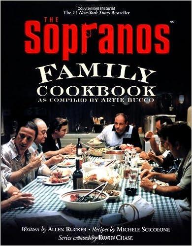 Book 'The Sopranos' Family Cookbook