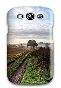[lZGppRm29893SJxCt] - New Lovely Village Road Fields Amp Digital Protective Galaxy S3 Classic Hardshell Case