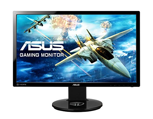 ASUS VG248QE 24-inch LED-lit Monitor 144Hz refresh rate 1ms pixel response time & 3D capable