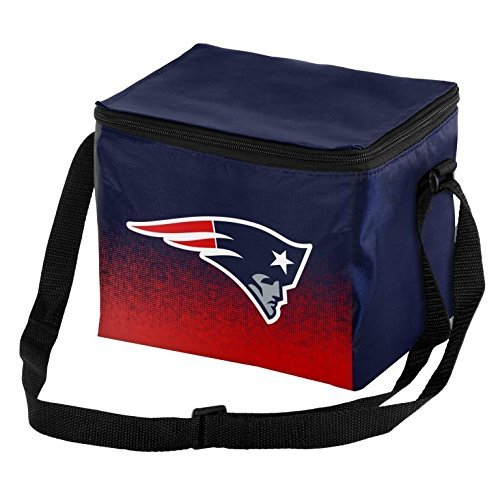 - Forever Collectibles NFL Unisex Gradient Print Lunch Bag Coolergradient Print Lunch Bag Cooler, New England Patriots, Standard