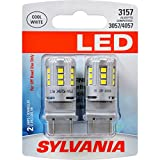 3157 white led light bulbs - SYLVANIA 3157 White LED Bulb, (Contains 2 Bulbs)