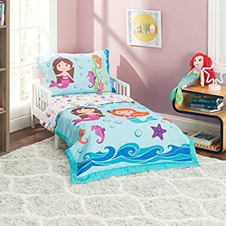 51vaAd2oCDL._SS450_ Mermaid Crib Bedding and Mermaid Nursery Bedding Sets