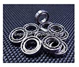 (10 PCS) MR106 (6x10x2.5mm) Metal OPEN PRECISION Miniature Ball Bearing 6102.5
